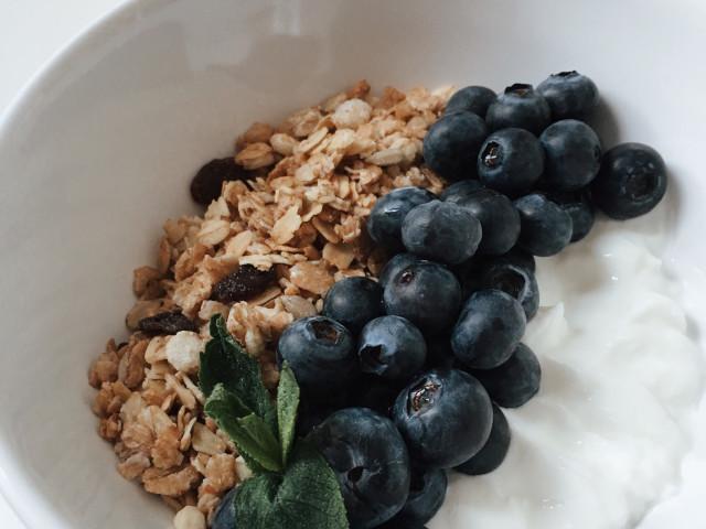 Завтрак с гранолой