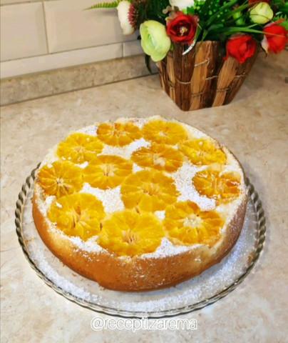 Пирог с цитрусовыми
