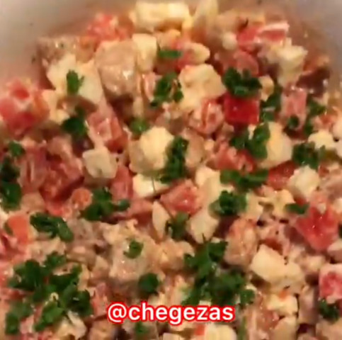Салат из 3-х ингредиентов