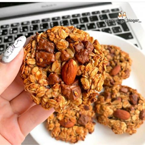 Мое любимое овсяное печенье ❤🍪
