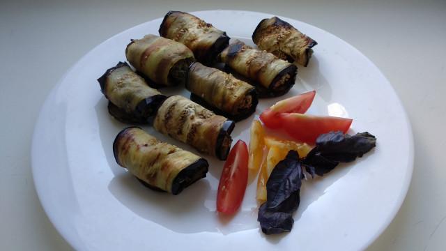 Баклажаны с орехами по-грузински