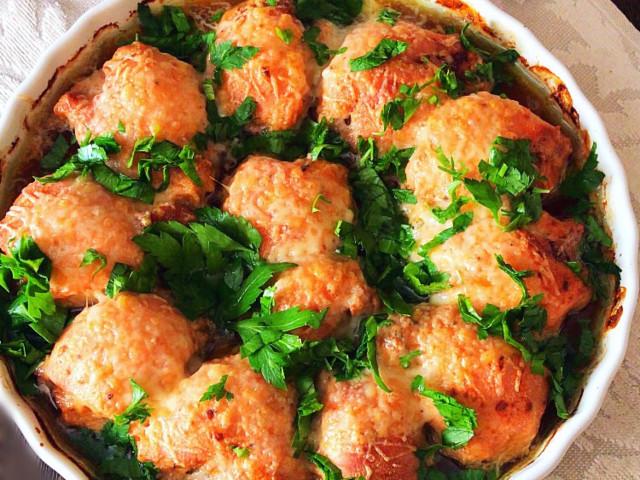 Курица в томатно-йогуртовом соусе