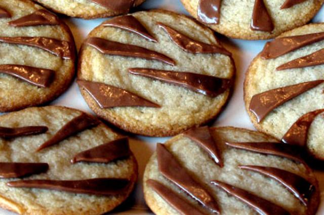 «Тигровое» печенье