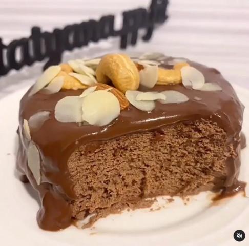 Быстрый шоколадный чизкейк