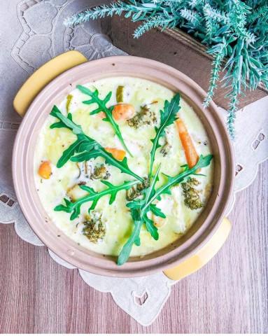 ПП Запеканка с рыбой и овощами