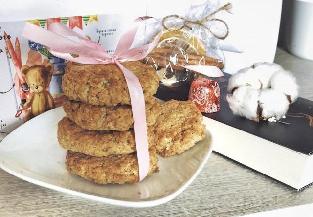 Овсяно-кокосовые печеньки 🍪🥥