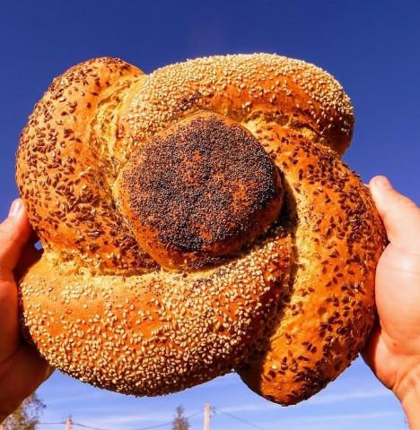 Хлеб - цветок