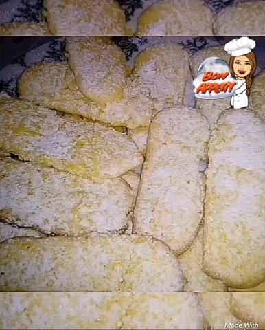 """Печенье «Савоярди"""" 🍘"""