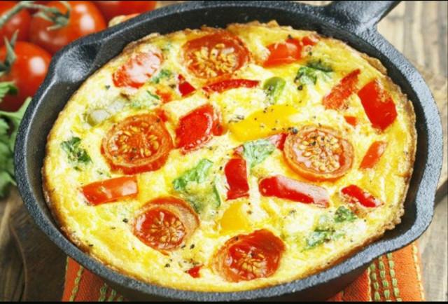 Фриттата, или яичница по-итальянски
