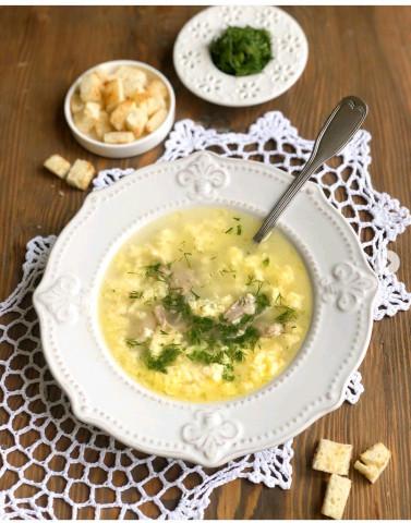 Суп «Итальянский» типа Страчателла🍲