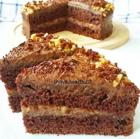 ПП- шоколадно-кофейный тортик
