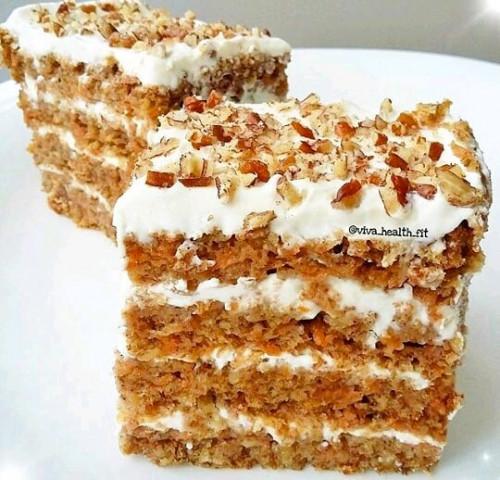 ПП-морковный тортик