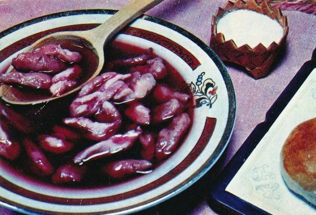Суп из свежей черники с клецками
