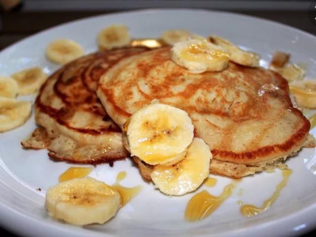 Банановые оладья
