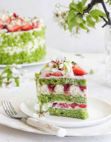 Шпинатный торт