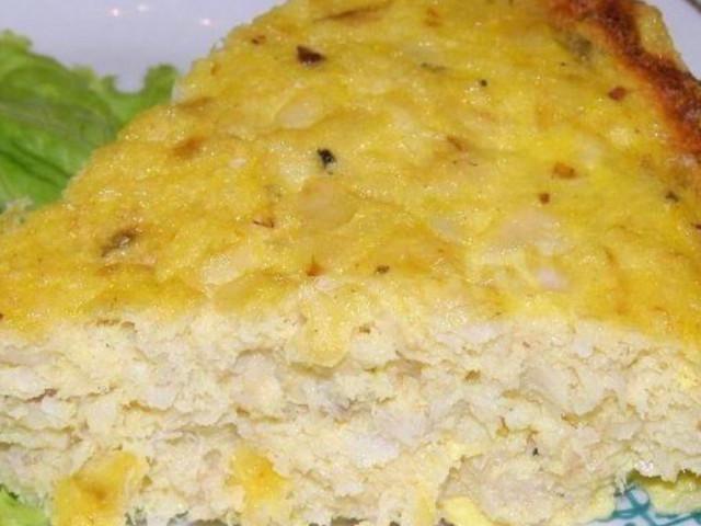 Диетическое рыбное суфле в духовке