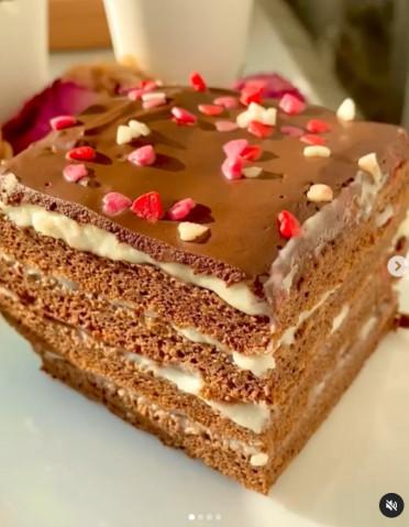 ПП шоколадный торт