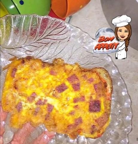Мини-пицца на сковородке