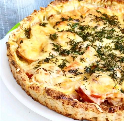 ПП-пицца из творога