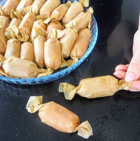 Куриные конфетки в духовке
