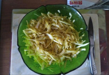 Заливной пирог с капустой - фото приготовления рецепта шаг 1