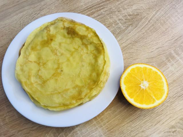 Вкусные апельсиновые блинчики 🥞