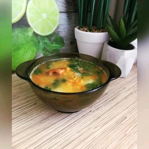 самый вкусный гороховый суп