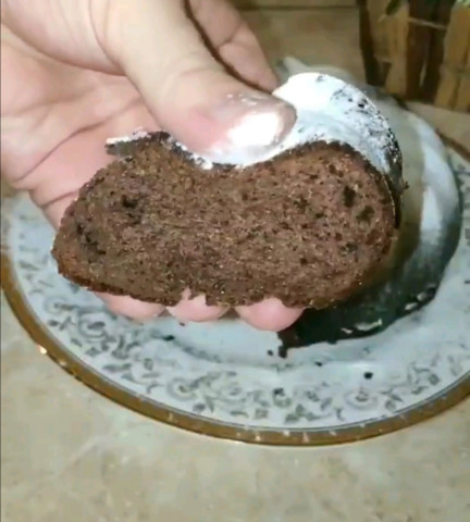 Шоколадный кекс на сгущёнке