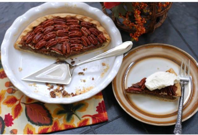 Пирог с орехами пекан (Пекановый пай)