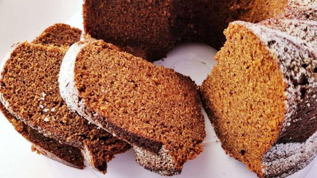 Финиковый карамельный кекс