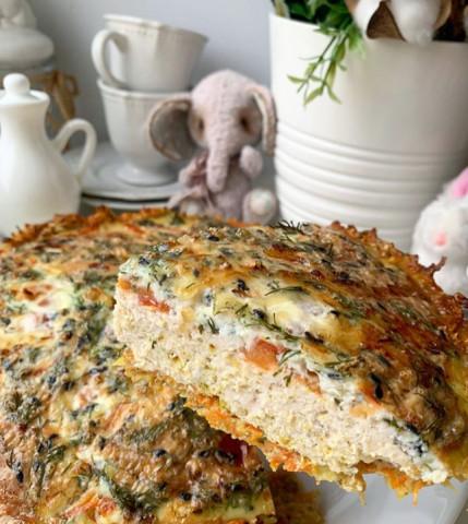 Овощно-мясной пирог