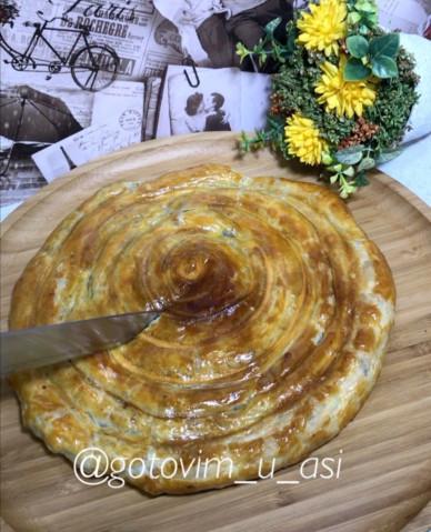 Восточный десерт в улитке