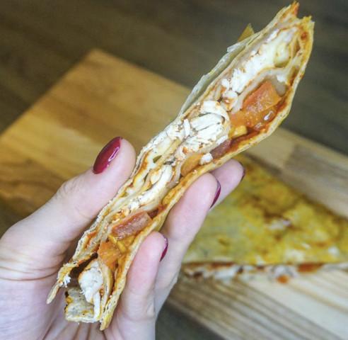 Закрытая пицца из лаваша🍕