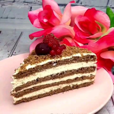 Тортик за 25 минут!