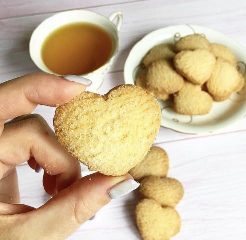 Быстрый рецепт простых печенек к чаю