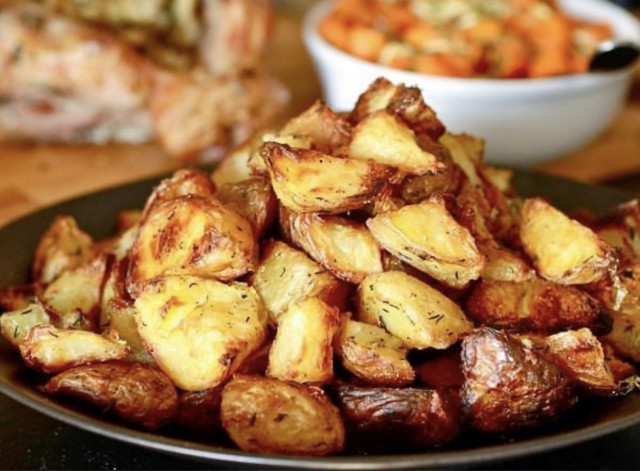 Супер хрустящая картошечка в духовке