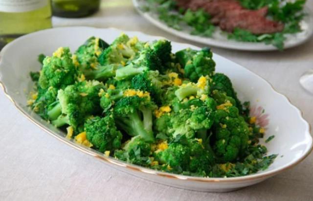 Полезный и вкусный салат из брокколи