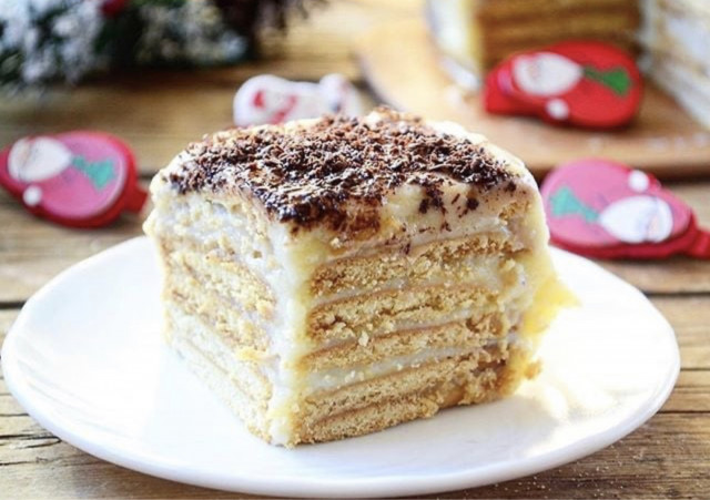 Ленивый торт