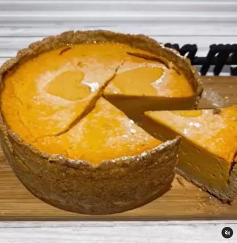 Тыквенный тарт
