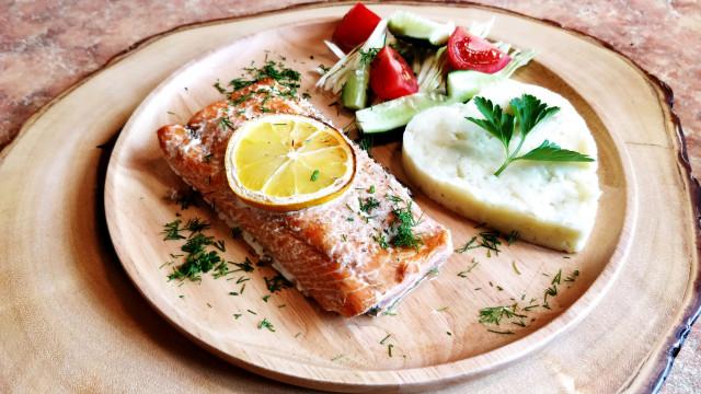 Рыба в духовке за 15 минут