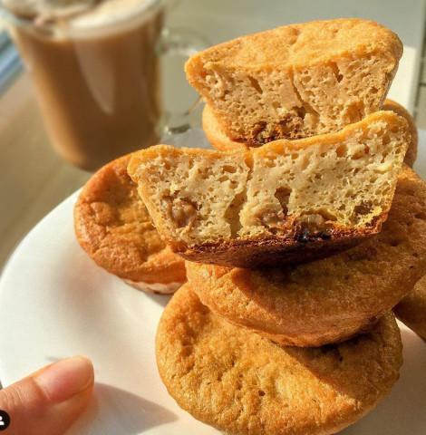 Кофейно-творожные кексы 🥧