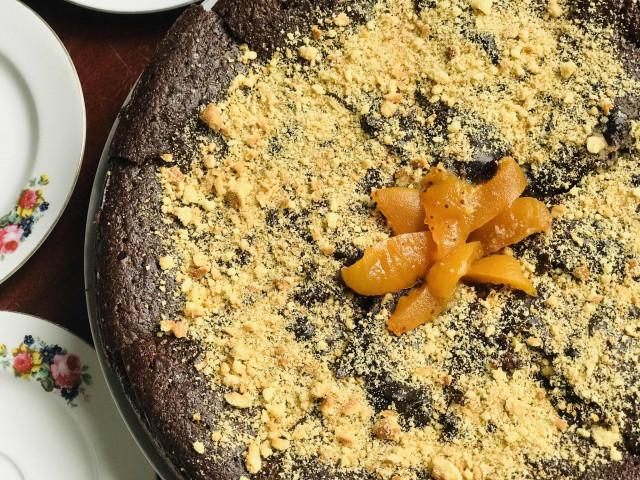 Простой и Быстрый Шоколадный пирог