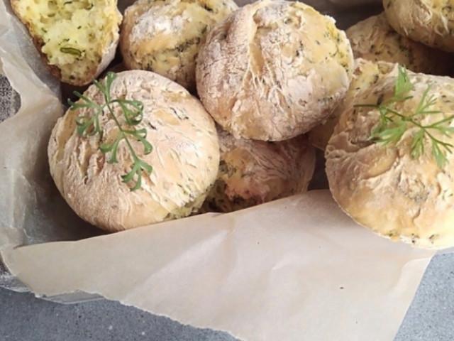 Кефирные шарики (вместо хлеба)