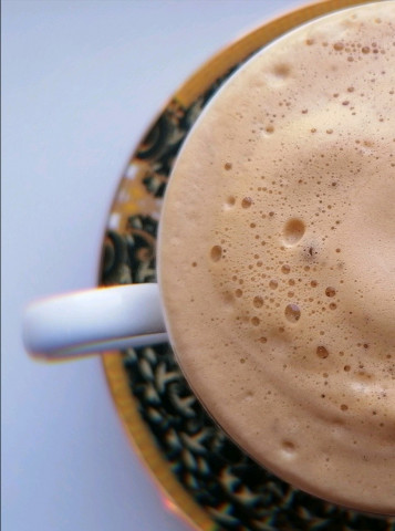Кофе с молоком ☕