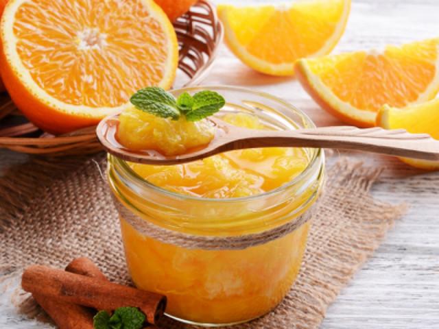 Топинг из кураги с апельсином и имбирем
