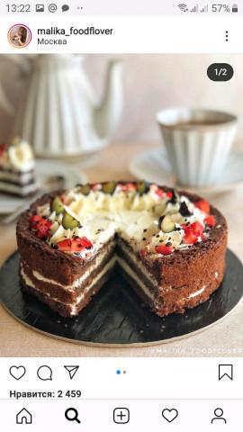🎂«Черёмуховый торт»🎂