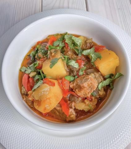 Блюдо грузинской кухни «ЧАНАХИ»