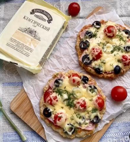 ППмини-пицца на сырно-творожном тесте