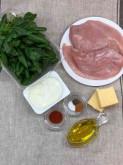 Куриная грудка фаршированная шпинатом - фото приготовления рецепта шаг 1