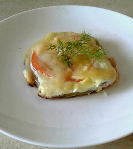 Яйцо в овощах